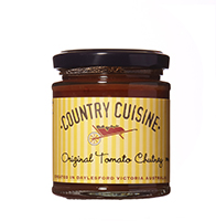 Original Tomato Chutney - 200g Just perfect with cheese and cold meats.