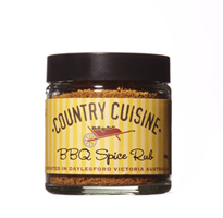 BBQ Spice Rub - 50g Rub liberally into beef or lamb before roasting or barbequeing. Your meat will taste delicious!