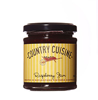 Raspberry Jam - 220g Surely everyone's favourite. Awarded a Commendation at the Royal Melbourne Fine Food Awards 2016.